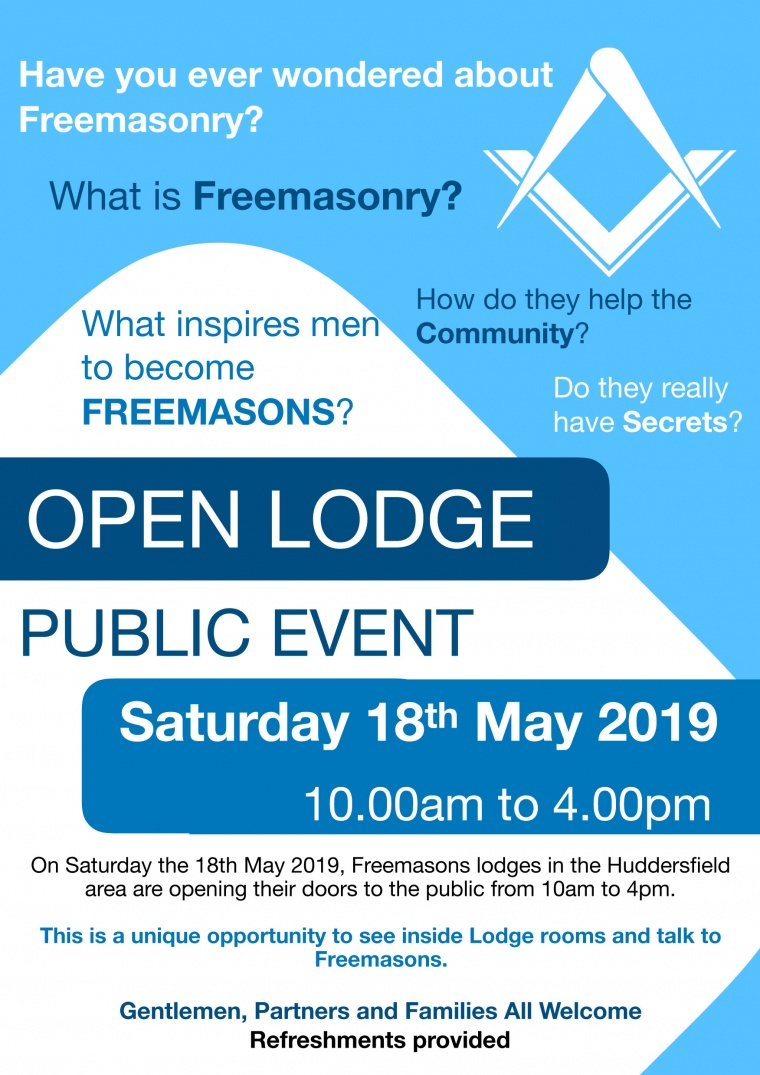 Open day at Colne Valley Lodge  – Saturday 18th May 2019 10.00am to 4pm